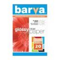 БАРВА Paper 10x15, 200г  20арк., глянцевий (IP-BAR-C200-026)