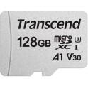 Transcend 128Gb C10 UHS-I (TS128GUSD300S-A) + SD адаптер