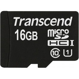 Transcend 16Gb microSDHC Class 10 UHS-I Premium (TS16GUSDCU1)