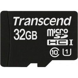 Transcend 32Gb microSDHC Class 10 UHS-I (TS32GUSDCU1)