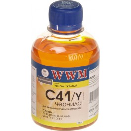 WWM CANON CL41/51/CLI8/BCI-16 (Yellow) 200г (C41/Y)
