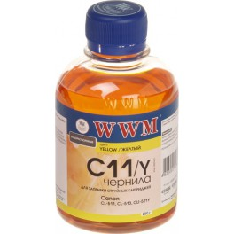 WWM CANON CL511/513/CLI521C/CLI426C (Yellow) 200г (C11/Y)