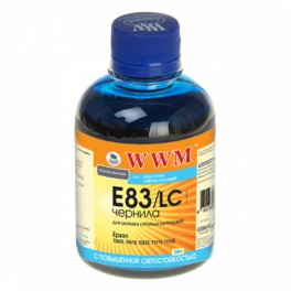 WWM EPSON Stylus Photo R270/P50/R290/RX615/T50/TX650 (Light Cyan) 200г (E83/LС)